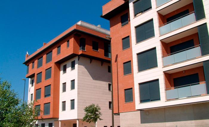 Construcción edificios viviendas