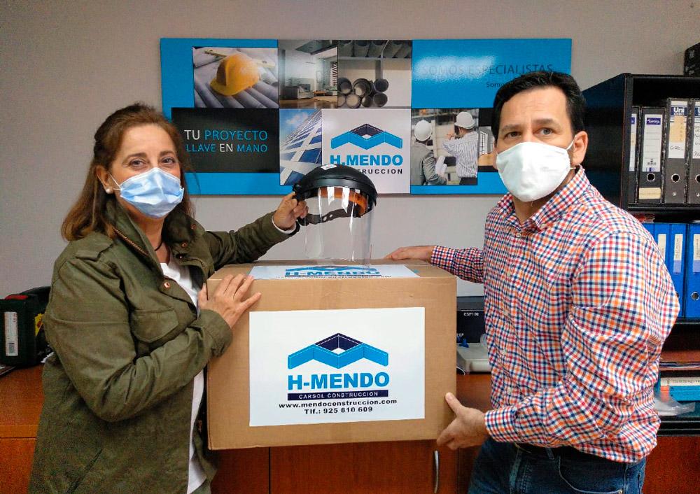 HMendo dona pantallas Hospital Talavera